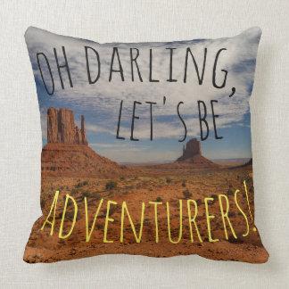 Monument Valley Adventurer Pillow