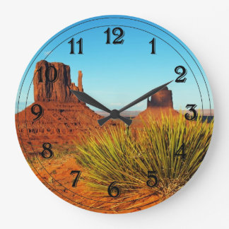 Monument Valley, Arizona Large Clock