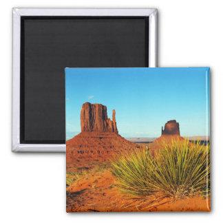 Monument Valley, Arizona Square Magnet