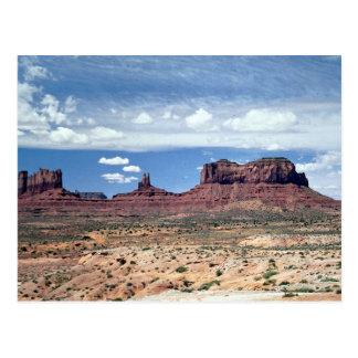 Monument Valley, Arizona, U.S.A. Postcard