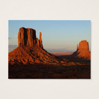 Monument valley,Colorado Business Card