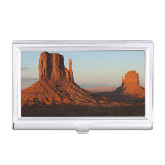 Monument valley,Colorado Business Card Holder