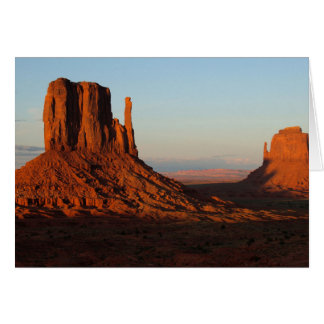 Monument valley,Colorado Card