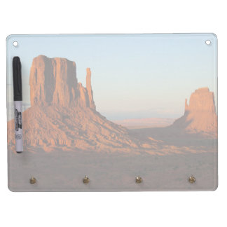 Monument valley,Colorado Dry Erase Board With Keychain Holder