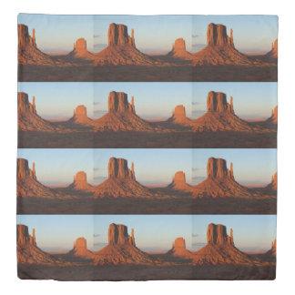 Monument valley,Colorado Duvet Cover