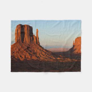 Monument valley,Colorado Fleece Blanket