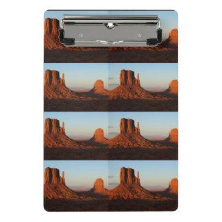 Monument valley,Colorado Mini Clipboard