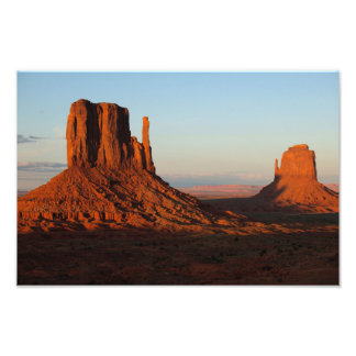 Monument valley,Colorado Photo Print