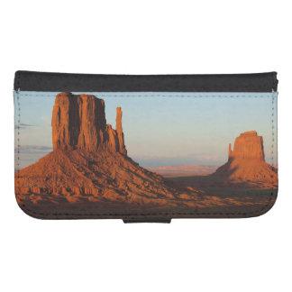 Monument valley,Colorado Samsung S4 Wallet Case