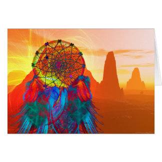 Monument Valley Dream Catcher Card