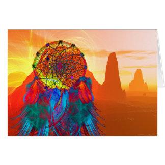 Monument Valley Dream Catcher Card