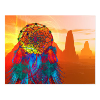 Monument Valley Dream Catcher Postcard