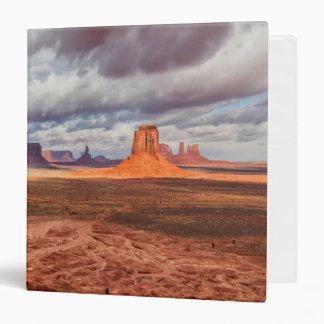 Monument valley landscape, AZ 3 Ring Binders