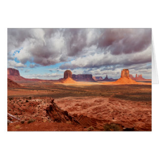 Monument valley landscape, AZ Card