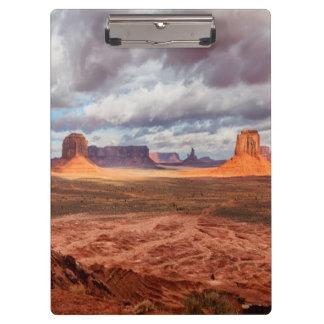 Monument valley landscape, AZ Clipboard