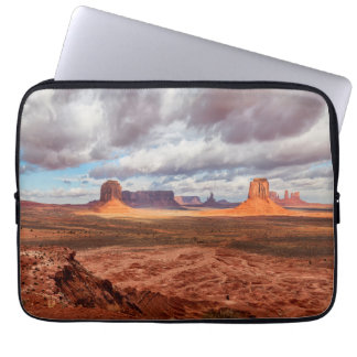 Monument valley landscape, AZ Laptop Computer Sleeve
