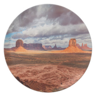 Monument valley landscape, AZ Plate