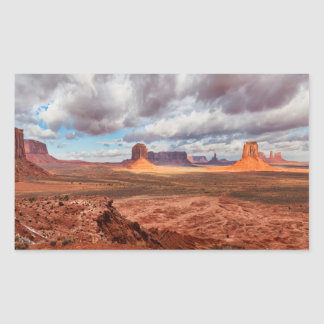Monument valley landscape, AZ Sticker