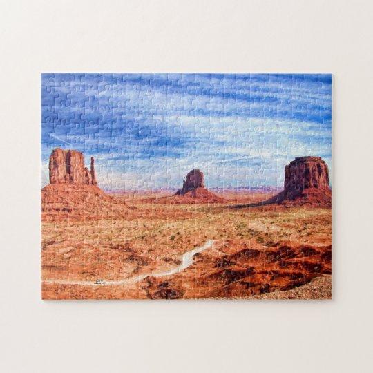 Monument Valley Photo Puzzle
