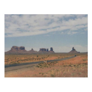 Monument Valley Postcard