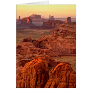 Monument valley scenic, Arizona Card