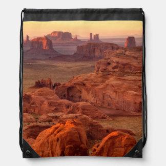Monument valley scenic, Arizona Drawstring Bag