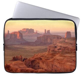 Monument valley scenic, Arizona Laptop Sleeve