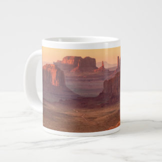 Monument valley scenic, Arizona Large Coffee Mug