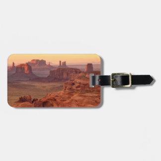 Monument valley scenic, Arizona Luggage Tag