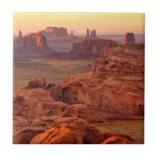 Monument valley scenic, Arizona Tile