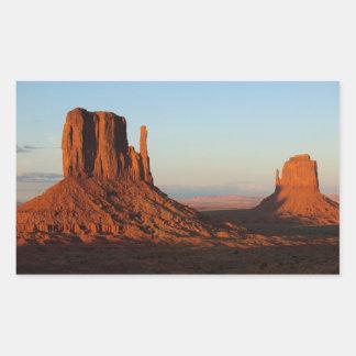 Monument Valley Utah Desert Rock Formation Sticker