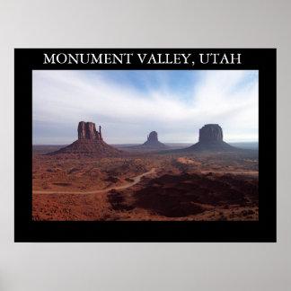 Monument Valley, Utah Poster