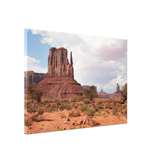 Monument Valley, Utah, USA 2 Canvas Print