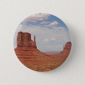Monument Valley, Utah, USA 2 Inch Round Button