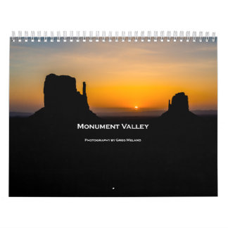 Monument Valley Wall Calendar