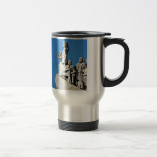 Monument you the Portuguese Sea Discoveries Travel Mug