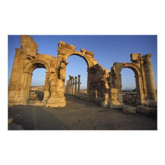 Monumental Arch, Palmyra, Homs, Syria Photograph