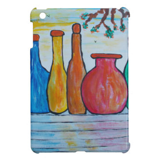Monumental bottles case for the iPad mini