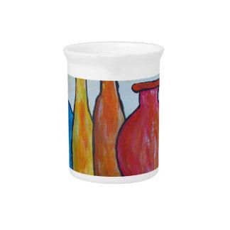 Monumental bottles pitcher