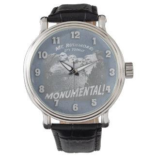 Monumental Mount Rushmore Wristwatches
