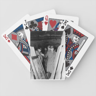 Monuments Men playing cards