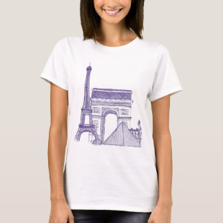 Monuments of Paris T-Shirt