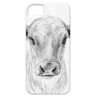 Moo A Young Jersey Cow iPhone 5 Covers