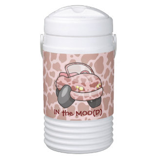 Moo Car Drinks Cooler
