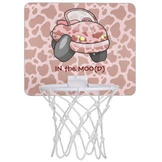 Moo Car Mini Basketball Hoop