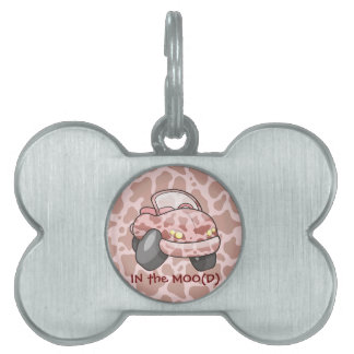 Moo Car Pet ID Tag