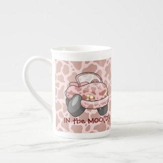 Moo Car Tea Cup