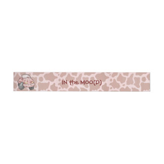 Moo Car Wraparound Address Label