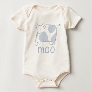 Moo cow  - baby tee