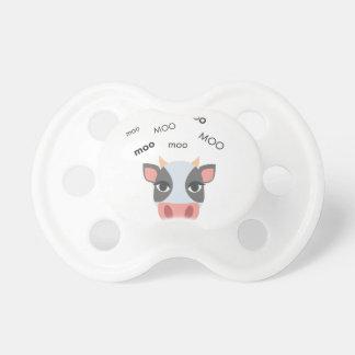 Moo Cow Cute Emoji Pacifiers